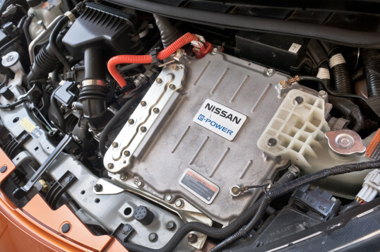 Nissan Note e-POWER engine