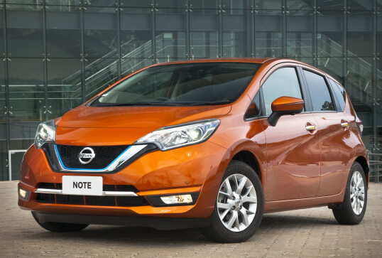 Nissan Note e-POWER left front