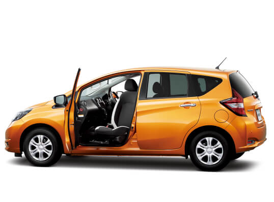 Nissan Note e-POWER power assist chair 2