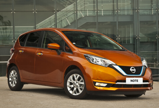 Nissan Note e-POWER right front