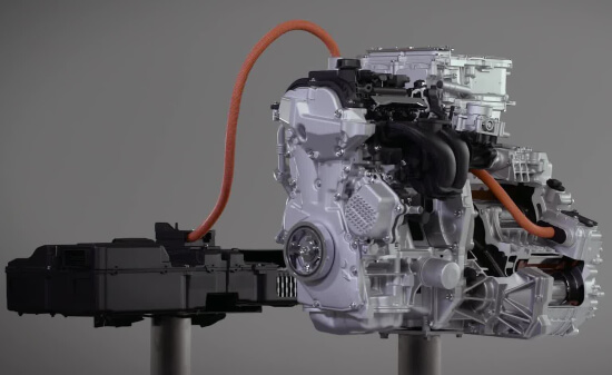 Nissan Serena e-Power engine