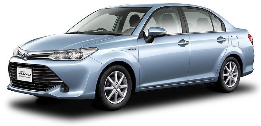 Corolla Axio hybrid NKE165