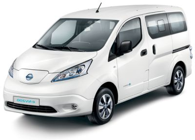 Hybrid electric car import Nissan NV200