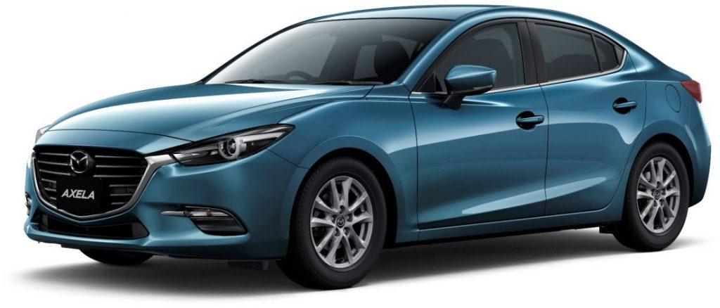 Mazda 3 hybrid Axela hybrid blue