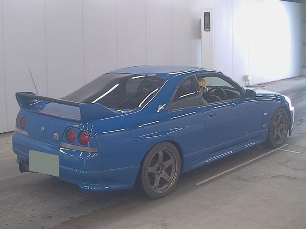 1996 Nissan Skyline R33 GT-R VSPEC LM Limited 09