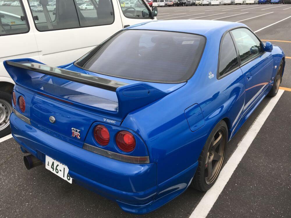 1996 Nissan Skyline R33 GT-R VSPEC LM Limited 13