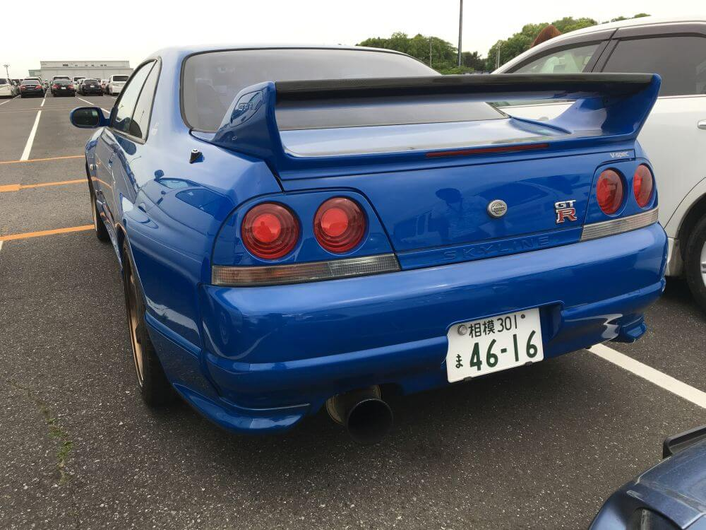 1996 Nissan Skyline R33 GT-R VSPEC LM Limited rear
