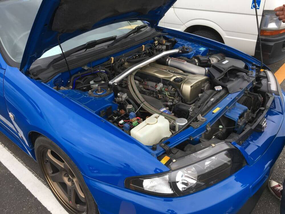 1996 Nissan Skyline R33 GT-R VSPEC LM Limited engine