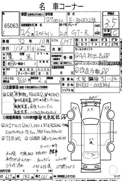 1990 Nissan Skyline R32 GTR Garage 34 report