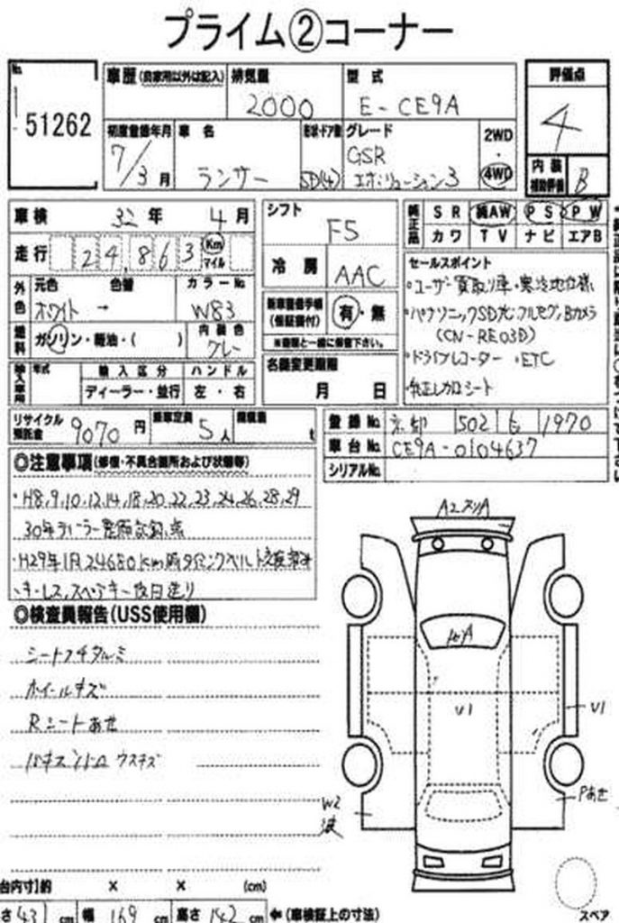 1995 Mitsubishi Lancer EVO 3 GSR 67