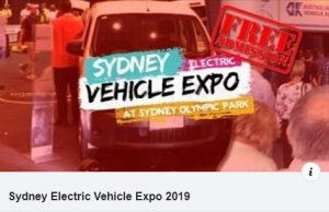 Sydney Electric Vehicle Expo 2019