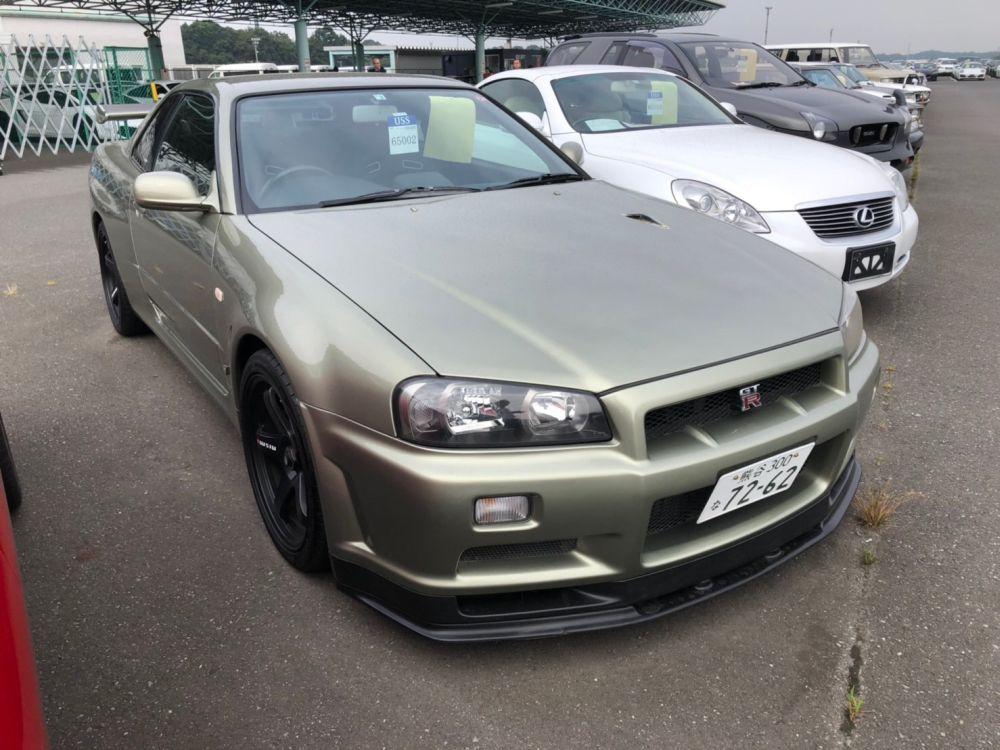2002 R34 GTR VSPEC2 NUR 55