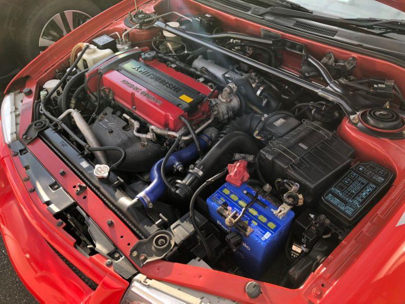 RED 2000 Mitsubishi Lancer EVO 6 TME 30