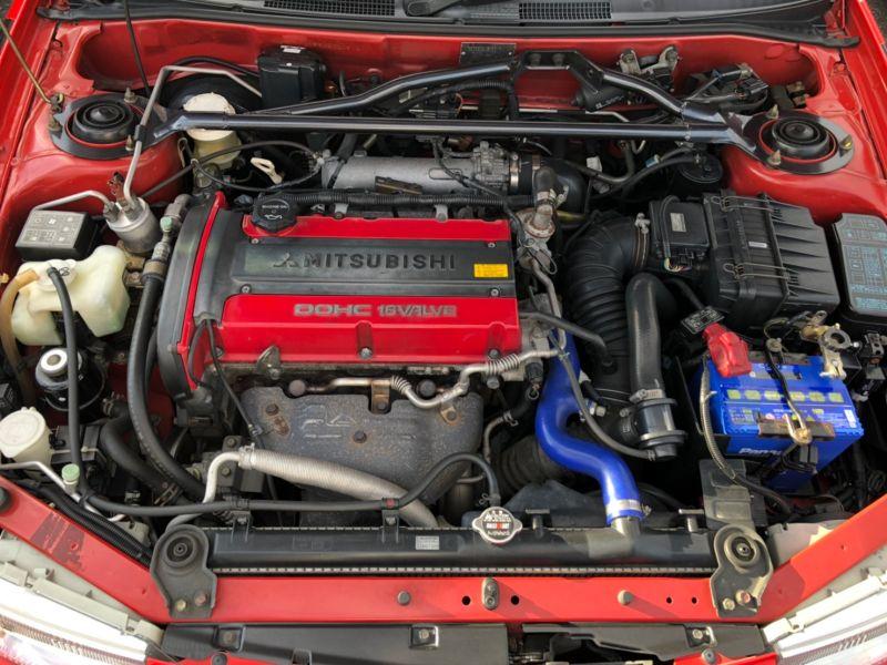 RED 2000 Mitsubishi Lancer EVO 6 TME 31