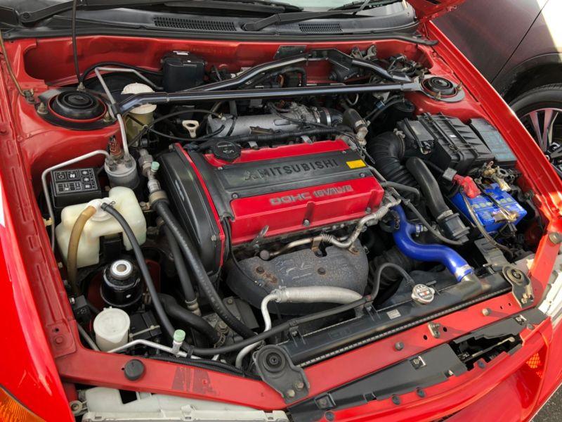 RED 2000 Mitsubishi Lancer EVO 6 TME 32