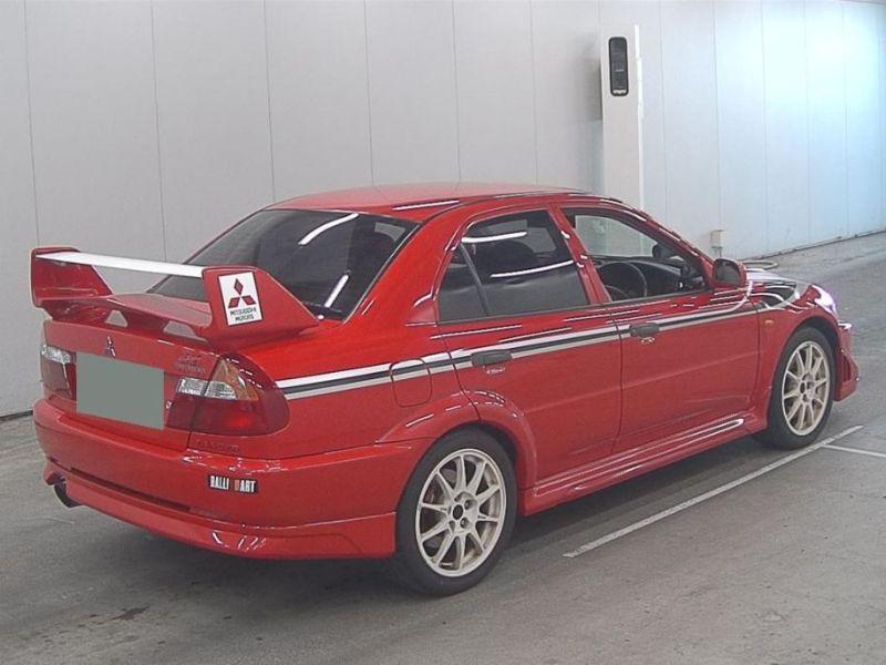 RED 2000 Mitsubishi Lancer EVO 6 TME 34