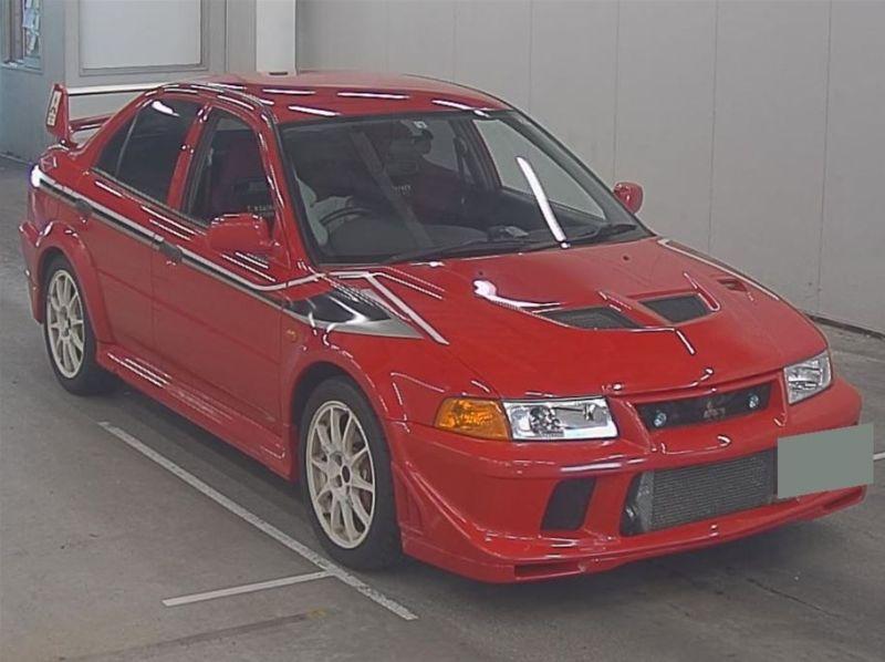 RED 2000 Mitsubishi Lancer EVO 6 TME 35