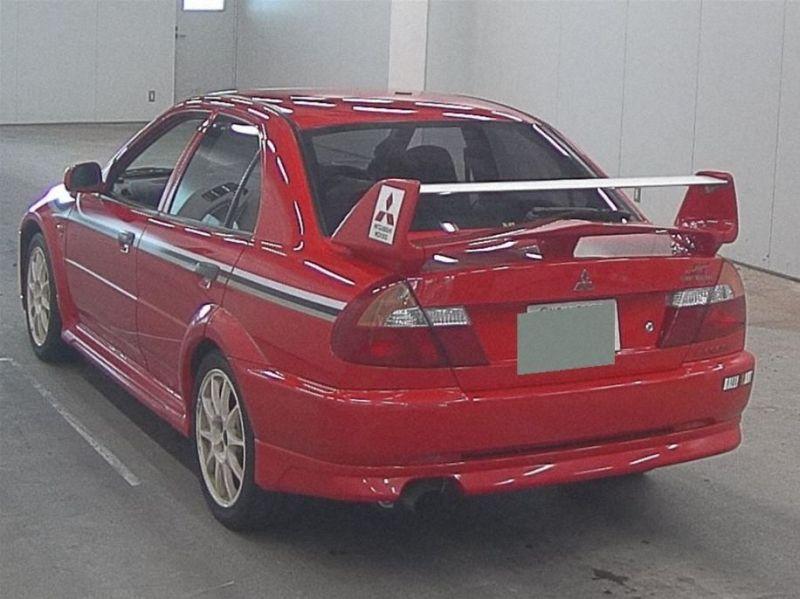 RED 2000 Mitsubishi Lancer EVO 6 TME 36