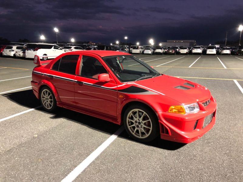 RED 2000 Mitsubishi Lancer EVO 6 TME 40