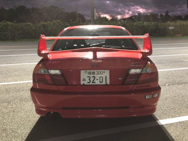 RED 2000 Mitsubishi Lancer EVO 6 TME 41