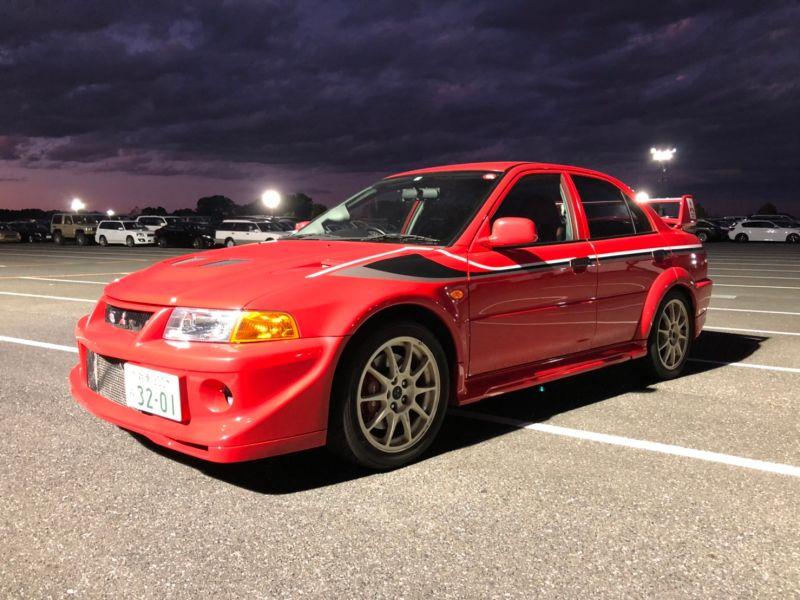 RED 2000 Mitsubishi Lancer EVO 6 TME 43