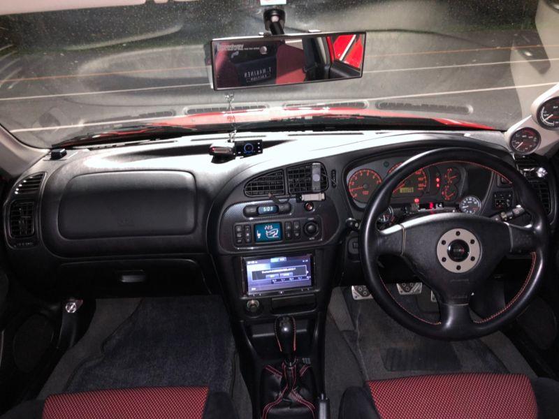 RED 2000 Mitsubishi Lancer EVO 6 TME 45