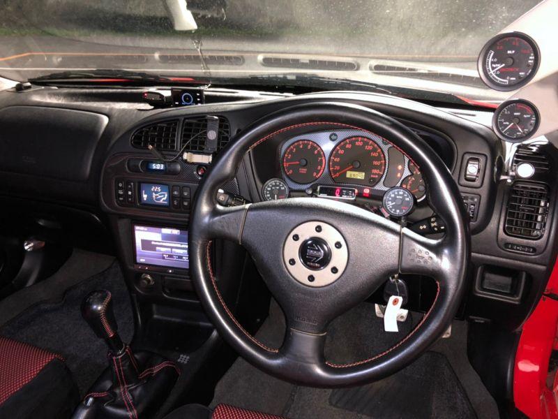 RED 2000 Mitsubishi Lancer EVO 6 TME 49