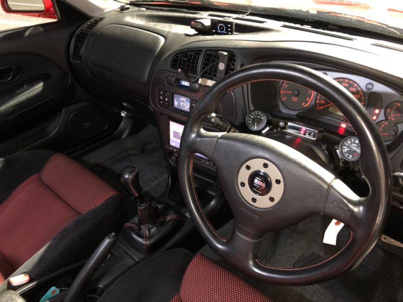 RED 2000 Mitsubishi Lancer EVO 6 TME 50