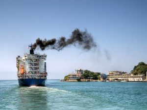 Ship pollution