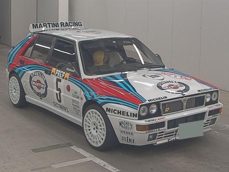 1992 Lancia Delta Integrale Collezione front right