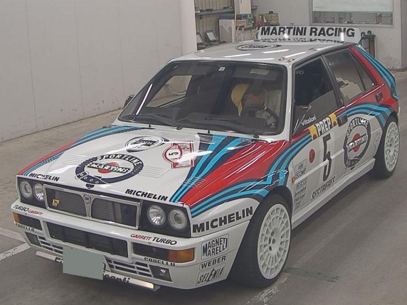 1992 Lancia Delta Integrale Collezione left front