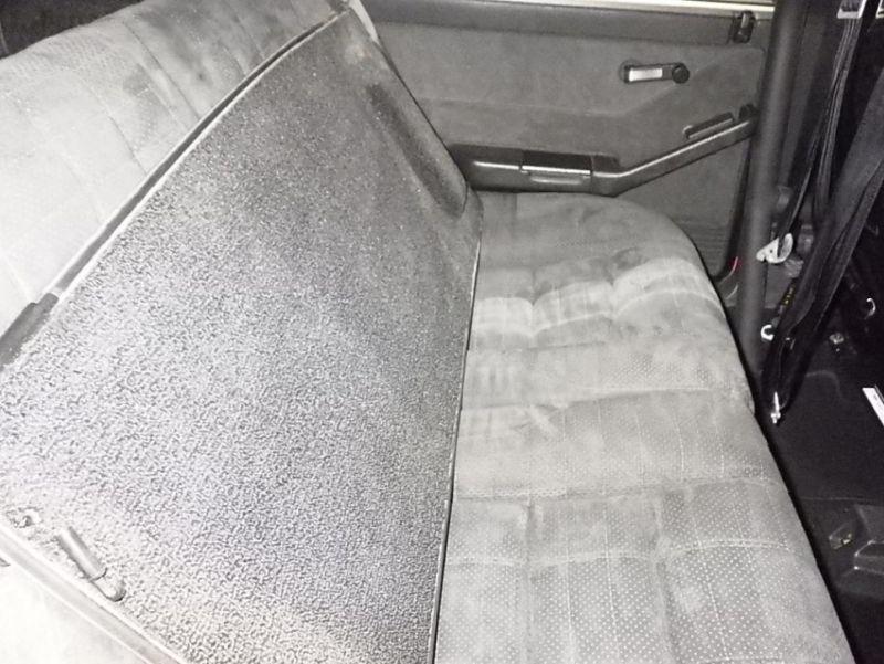 1992 Lancia Delta Integrale Collezione rear seat