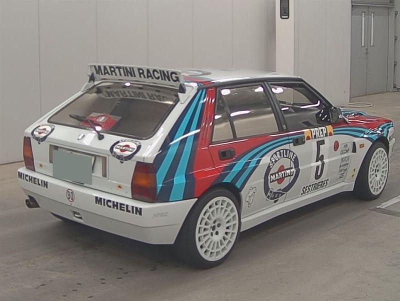 1992 Lancia Delta Integrale Collezione right rear