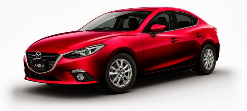Mazda 3 hybrid Axela hybrid front