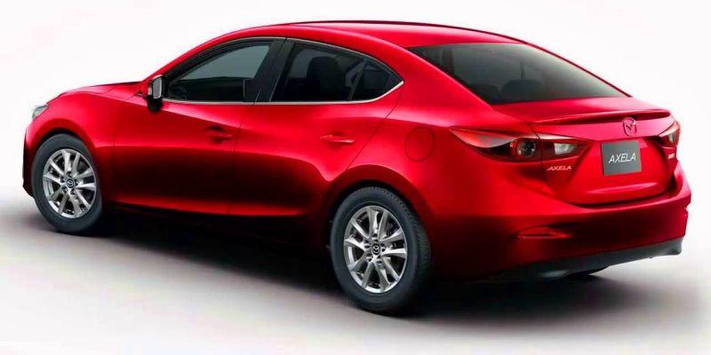Mazda 3 hybrid Axela hybrid rear