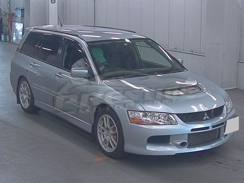 2005 Mitsubishi Lancer EVO 9 wagon GT 6 speed manual 02