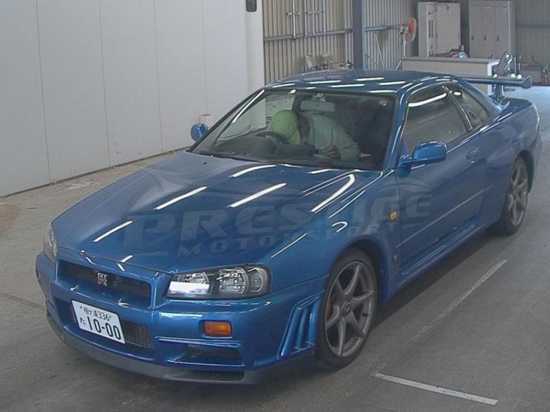 R34 GTR with NISMO S1 engine 12