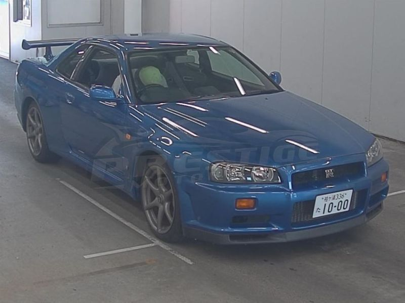 R34 GTR with NISMO S1 engine 16