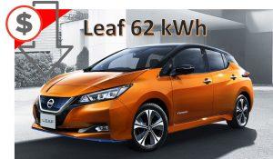 Leaf 62kWh Import Cheaper