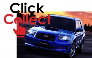 Subaru Forester STi import