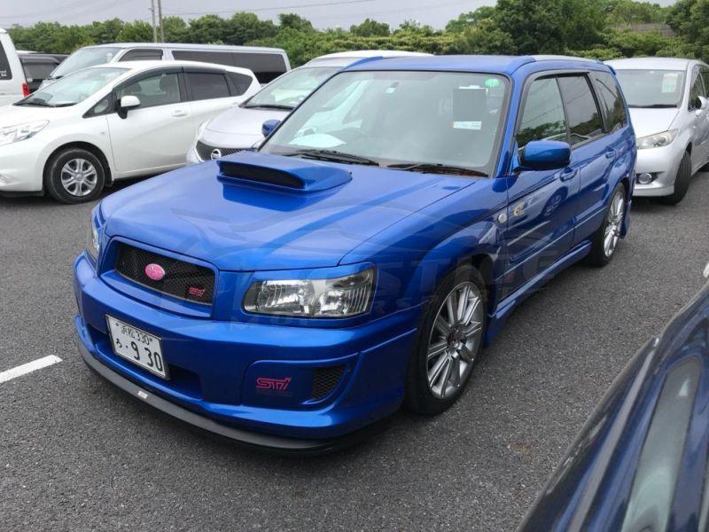 2005 Subaru Forester STi 30