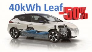 40kWh Leaf Import 50% off