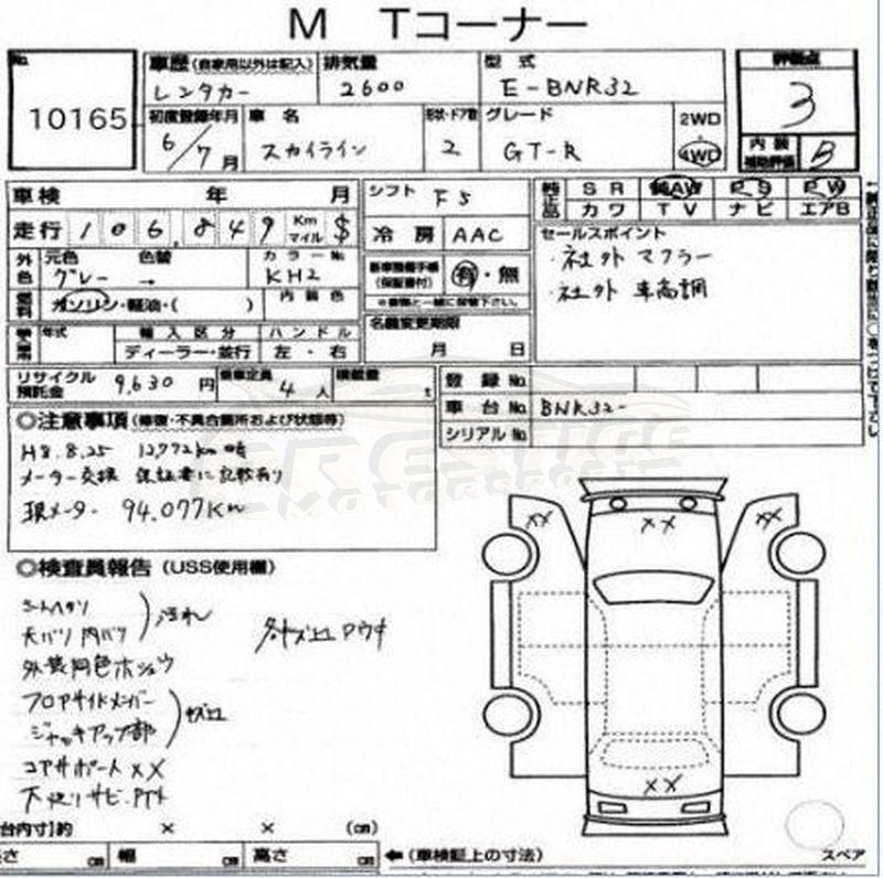 1994 Nissan Skyline R32 GTR 28