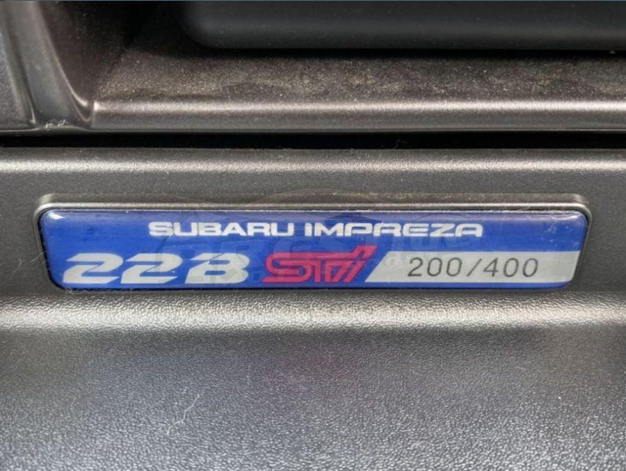 1998 Subaru WRX 22B STi 12