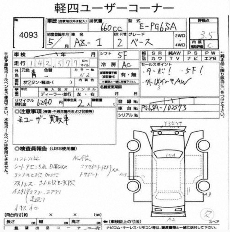 Auction report