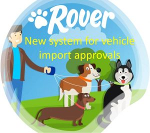 Rover import approval application